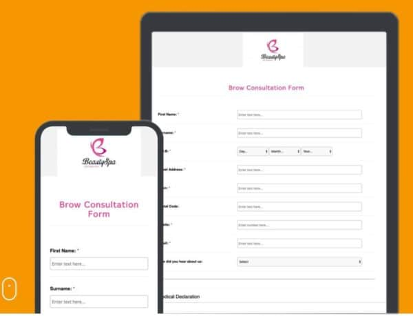 Consultation Forms Aesthetic Clinics