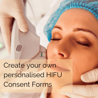 HIFU treatment consent forms