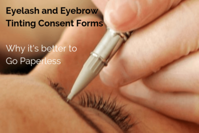Eyelash and Eyebrow tinting content forms