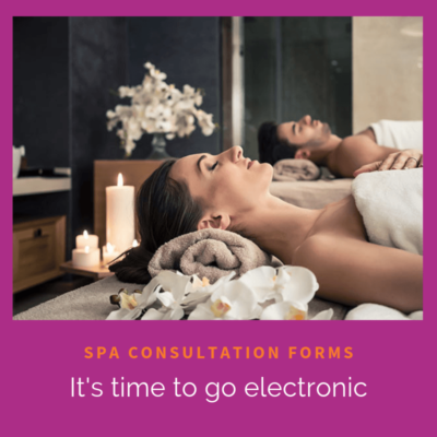 spa client consultation forms