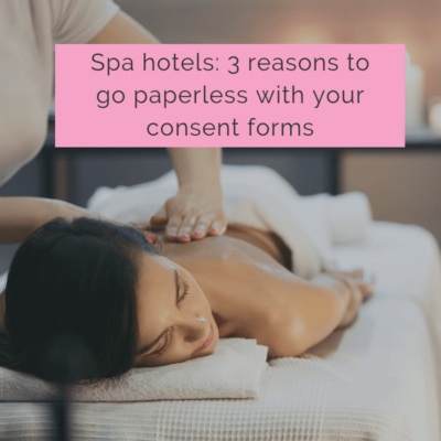 spa hotel consent forms